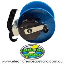 Nemtek Geared Strip Grazing Reel 3 1 Electric Fence Australia Electric Fence Poly Rope Electricity