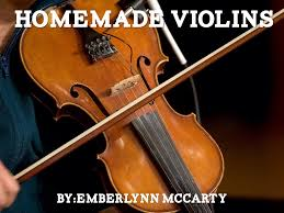 homemade violins by twyla mccarty