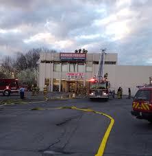 firefighters extinguish blaze at harbor