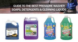 Guide To Pressure Washer Soaps Detergents And Chemicals A Must Read Before Using Them Electric Pressure Washer Site