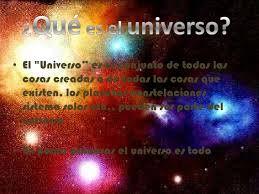 """Geografia """"universo"""""""