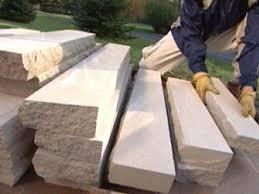 How To Build Stone Pillars How Tos Diy