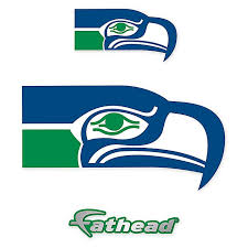 Fathead Nfl Seattle Seahawks Classic Logo Large Wall Decal Bed Bath Beyond