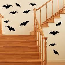 Wall Decal Halloween Assorted Bats Holiday Vinyl Stickers