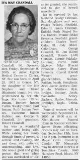 Iva May Inman Crandall obituary - Newspapers.com