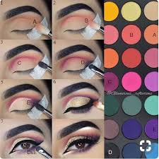 cool eye makeup ideas step by step