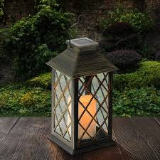 solar outdoor mini lanterns lighting