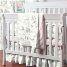 moon toile portable crib bedding