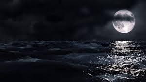 Moon And Sea Hd مشاهد مونتاج البحر والقمر ليلا Youtube