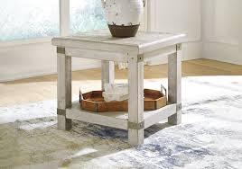carynhurst white wash gray rectangular