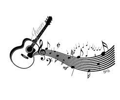 Music Bar Guitar Wall Decal Decalmywall Com