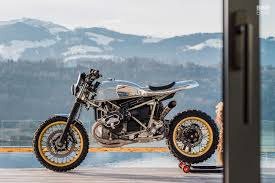 this bmw r ninet is a homage to rickman