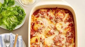 easy ravioli bake recipe bettycrocker