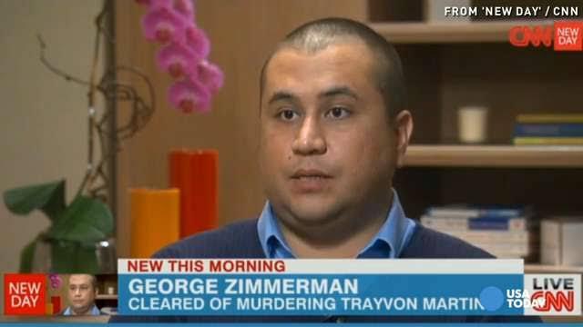 George Zimmerman en televisión