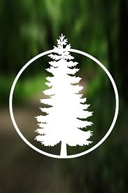 Decal Pine Tree Adventure Decal Vinyl Decal Car Window Decal Laptop Decal Water Bottle Decal Phone Tree Decals Water Bottle Decal Car Decals Vinyl
