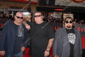 Rick Harrison, Corey Harrison and Austin 'Chumlee' Russell – Stock ...
