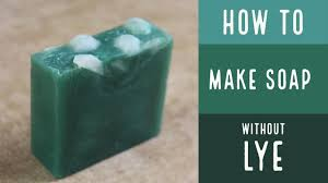 essential oil soap without lye