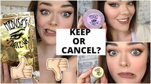 makeup unboxing keep or cancel