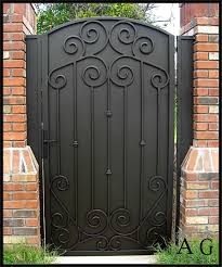 Std Privacy Gates Allied Gate Company Iron Garden Gates Door Gate Design Iron Gate Design