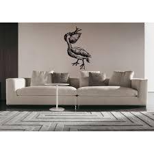 Shop Pelican Eating Fish Wall Art Sticker Decal Overstock 11433013