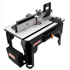 Craftsman 28130 Router Table With Folding Legs And 24 X 14 In Laminated Mdf Work Surface American Freight Sears Outlet