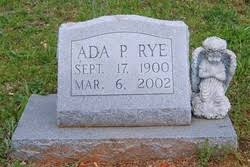 Ada Powell Rye (1900-2002) - Find A Grave Memorial