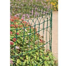 Gardman 54012 Path Border Fence Lawn Plant Beds Green Edging 40cm X 10m Buyaparcel