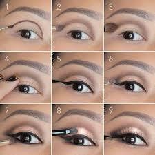 eyes make up makeup and night image