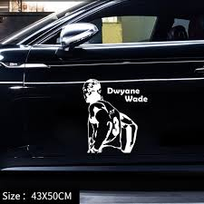 Basketball Air Jordan Car Door Stickers Micheal Creative Personalized Simle Style Decals High Quality Waterproof Car Stickers Aliexpress