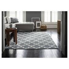 7 x10 fretwork design area rug gray