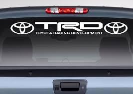 Product Toyota Logo Racing Development Trd Motorsport Banner Strip Car Windshield Vinyl Sticker Decal Camry Tundra Tacoma Rav4 Corolla