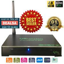 Android Tivi Box Ultra HD Q9s New giá rẻ 529.000₫