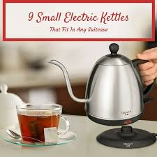 small electric kettle 9 best travel