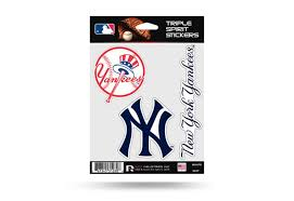 Ny Yankees Window Decal Set Sticker Officially Licensed Mlb Custom Sticker Shop
