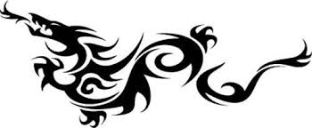 Tribal Dragon Vinyl Decal Sticker Car Windows Walls Laptops 11 5 X 4 Car Tattoos Car Graphics Decals Decals Stickers