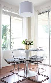 clear chairs that have minimal visual