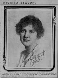 Ida Taylor Portrait 10 Jul 1915, Sat Wichita Beacon - Newspapers.com