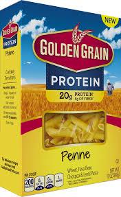protein penne golden grain pasta