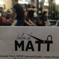 salon de matt salon barber in
