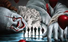 wallpaper of clown it chapter two