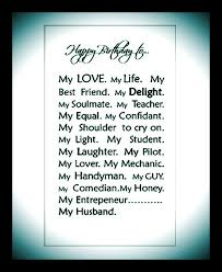 quotes about birthday husband quotes