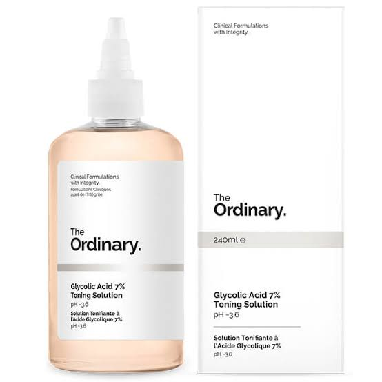 """Image result for The Ordinary Glycolic Acid 7% Toning Solution:"""""""