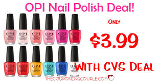 opi nail polish only 3 99 with cvs deal