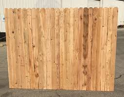 Western Red Cedar Fence Panels 5 8x4x6x8 Okc Fence Panel Builder
