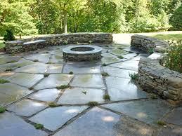 slate simple patio stone ideas filler