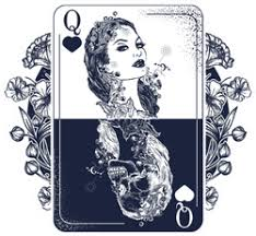 Playing Card Dice Diamond Shaped Stickers Decals