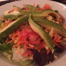 avocado salad la casita view