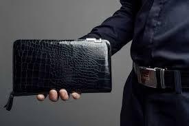 ví da cầm tay