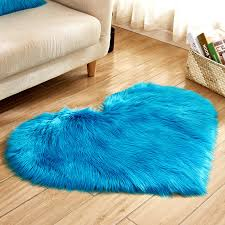 pink blue white long rug gy