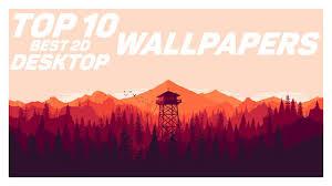 top 10 best 2d desktop wallpapers in